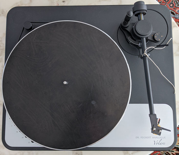 Dr Feickert Volare Turntable With Jelco Arm